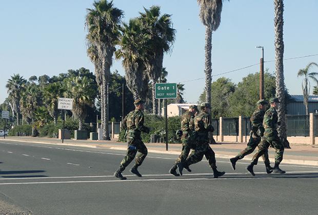 Военные в Сан-Диего