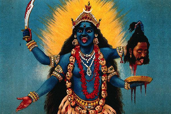 Индийская богиня Кали — воплощение природных сил, а также созидания и разрушения.