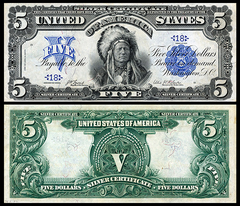 presidents on paper money