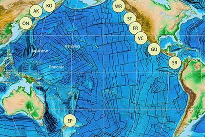 Описан механизм рождения Тихоокеанской плиты