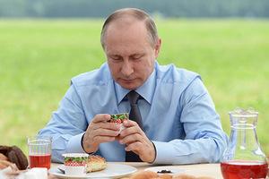 Владимир Путин во время рабочей поездки в Тверскую область