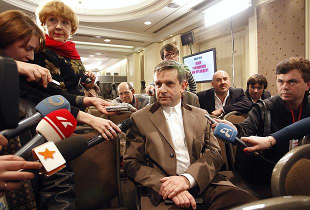 Зурабов в избирательном штабе Юлии Тимошенко в период президентских выборов 2010-го