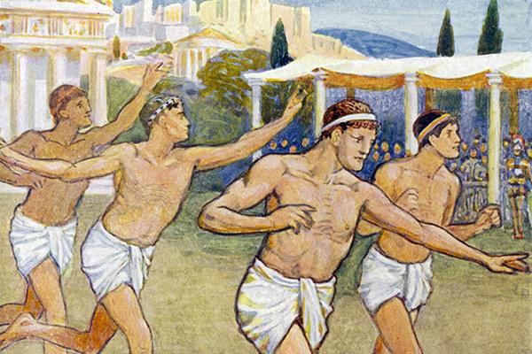 Древней греции виды спорта ищут клад