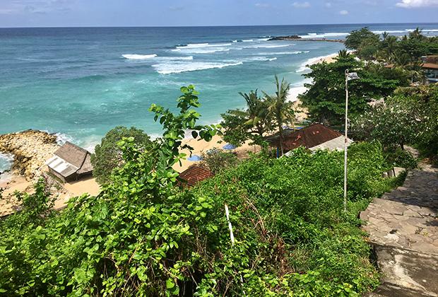 Пляж Никко, Нуса-Дуа