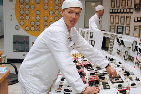 Пульт управления Билибинской АЭС - филиала ФГУП концерна «Росэнергоатом»
