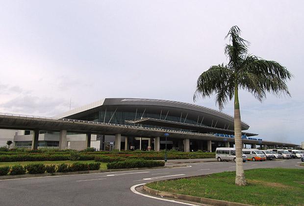 Здание нового аэропорта на острове Фукуок