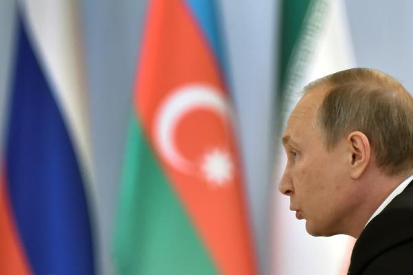Самые острые вопросы Путин, Алиев иРоухани обсудили сглазу приблизительно