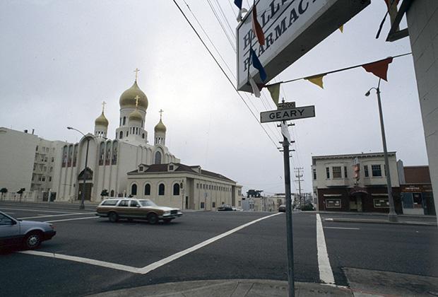 Православный храм в Сан-Франциско