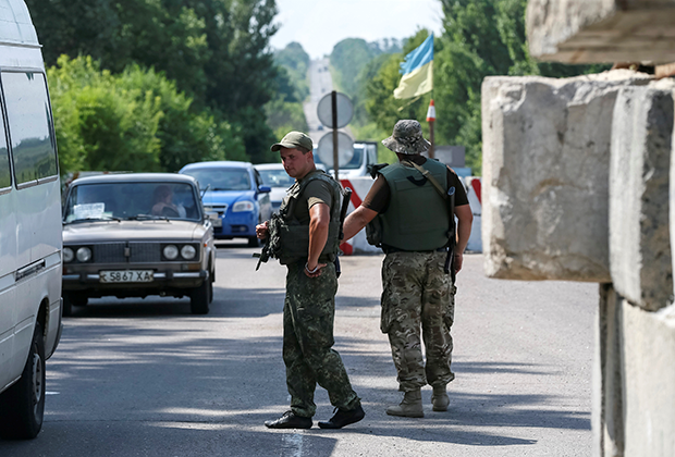 С 7 августа в Крыму был усилен контроль на всех постах