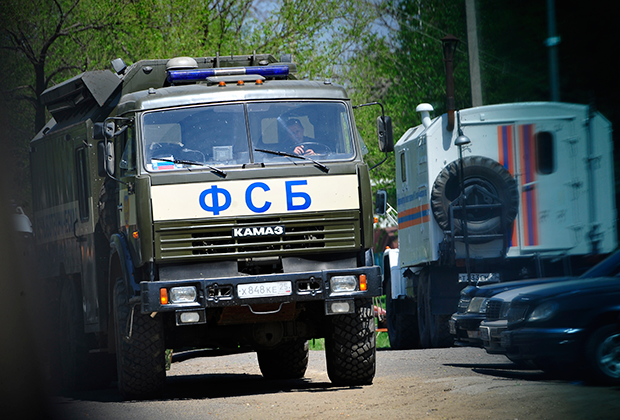 В ходе столкновений с диверсантами погиб пограничник и военнослужащий Минобороны России