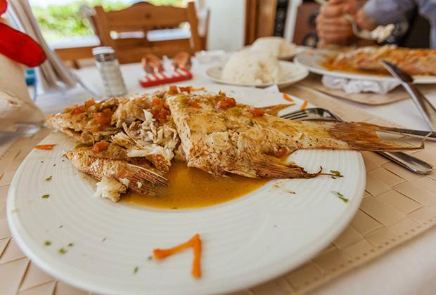 Рыба в кокосовом соусе