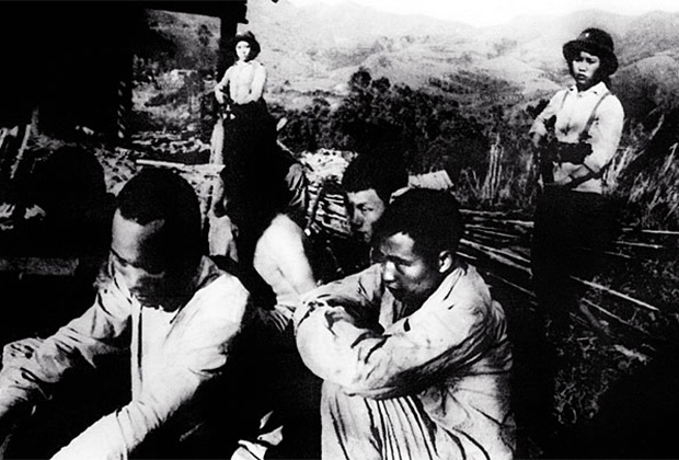 Китайские военнослужащие, взятые в плен вьетнамцами.