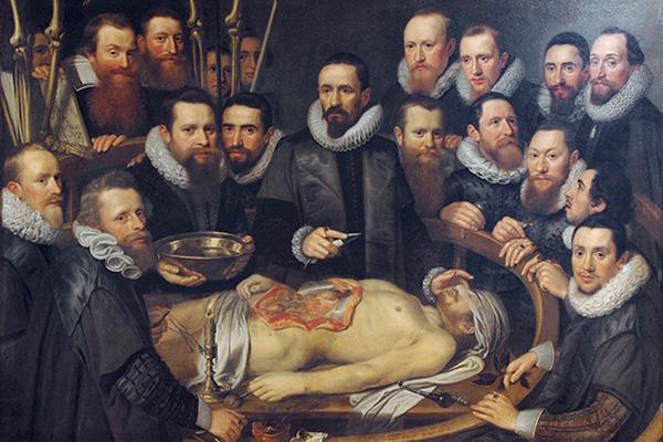«Урок анатомии доктора Виллема ван дер Меера»