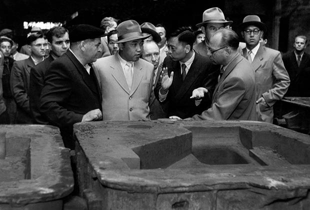 Ким Ир Сен на Уралмаше, 1956 год