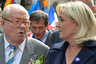 JEAN-MARIE LE PEN & MARINE LE PEN - FRONT NATIONAL PARTY'S ANNUAL CELEBRATION OF JOAN OF ARC, IN PARIS