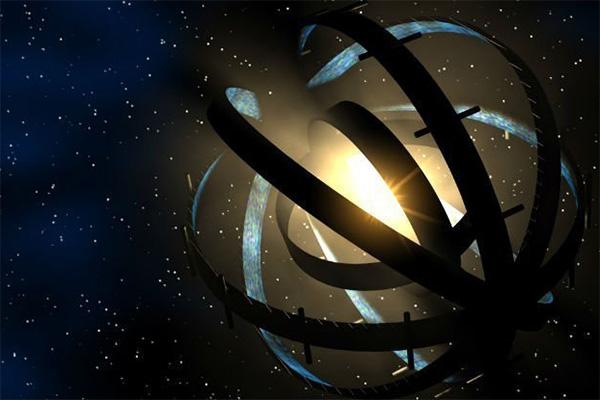 Инженерное сооружение вокруг звезды (в представлении художника)
