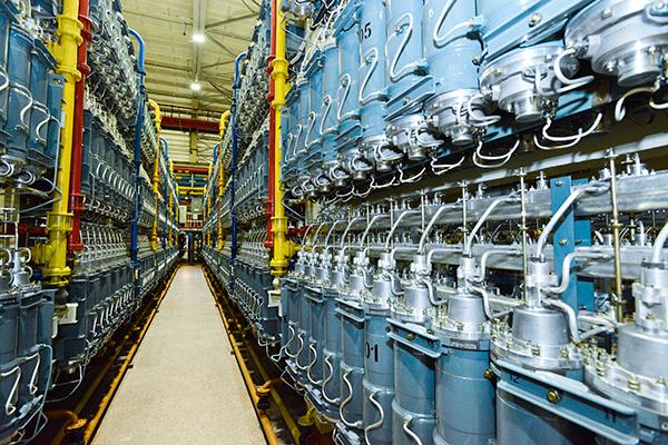 Газовые центрифуги для обогащения урана