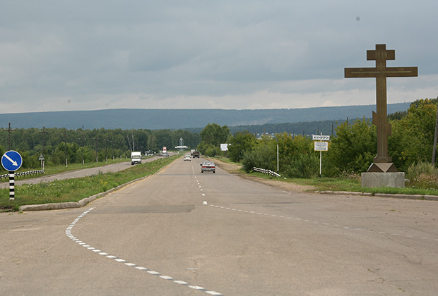 Мы въезжаем в город Зеленогорск