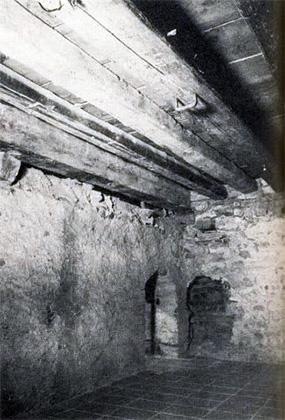Потайная каморка в замке Пильзах