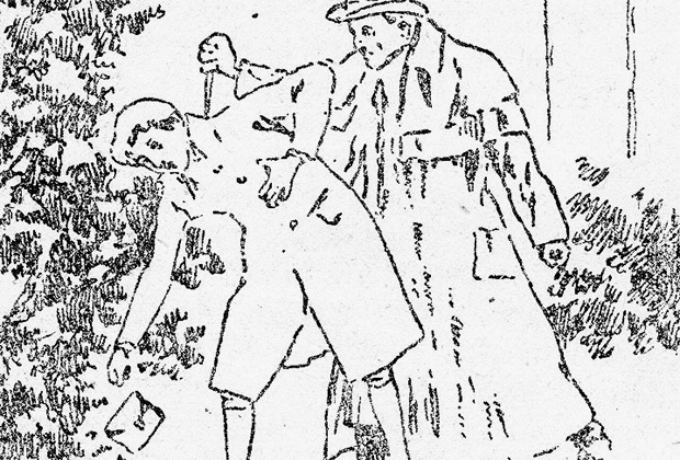 Убийство Каспара Хаузера в саду Ансбаха