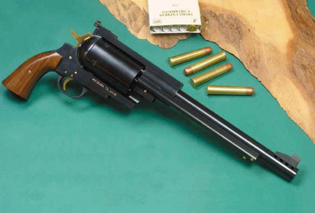 Револьвер Pfeifer Zeliska калибра .600 Nitro Express