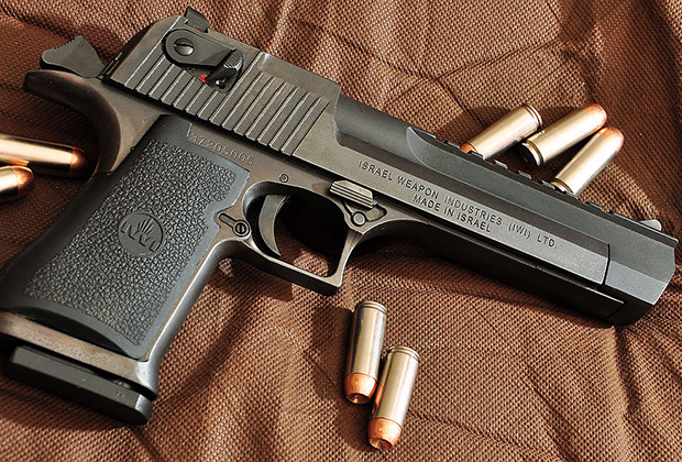 Пистолет Desert Eagle Mark XIX калибра .50 Action Express