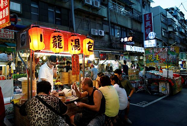 Ночной рынок, Тайбэй