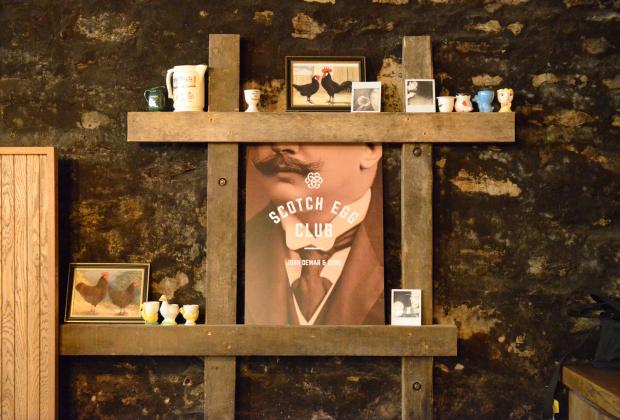 В начале сентября в Москве состоялся торжественный запуск российского отделения Scotch Egg Club