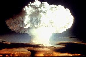 Испытания ядерной бомбы в США, 1954 год
