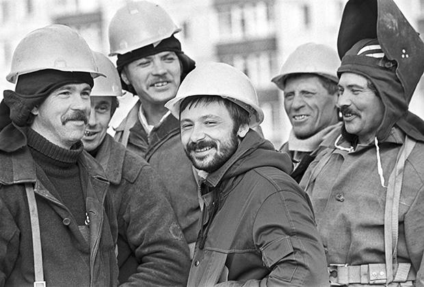 Строители Когалыма, 1985 год