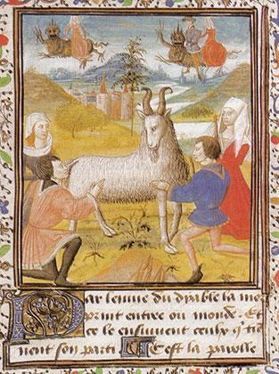 Ведьмы поклоняются козлу
