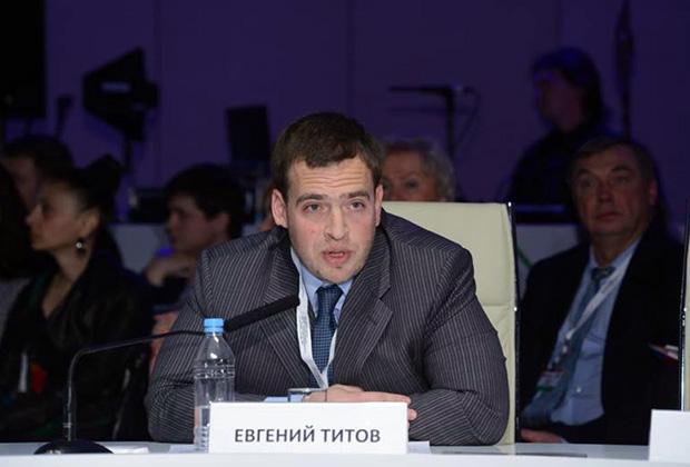 Генеральный директор ГК «Чайковский текстиль» Евгений Титов