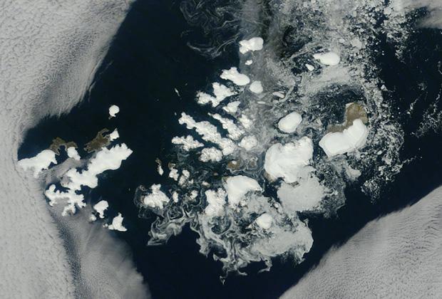 Спутниковый снимок архипелага