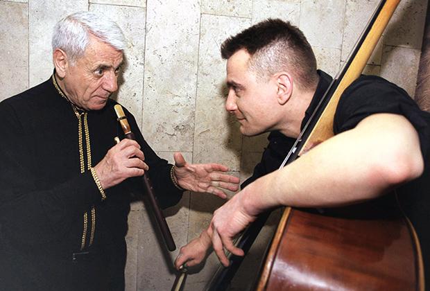 Гаспарян и музыкант Александр Суслин