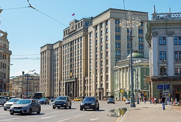 Здание Госдумы на Охотном ряду