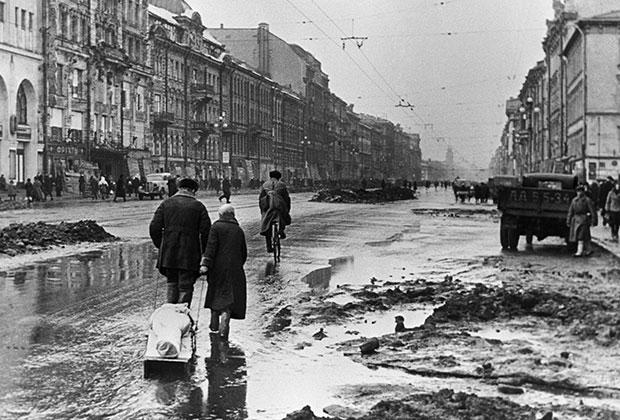 1942 год. Блокада Ленинграда