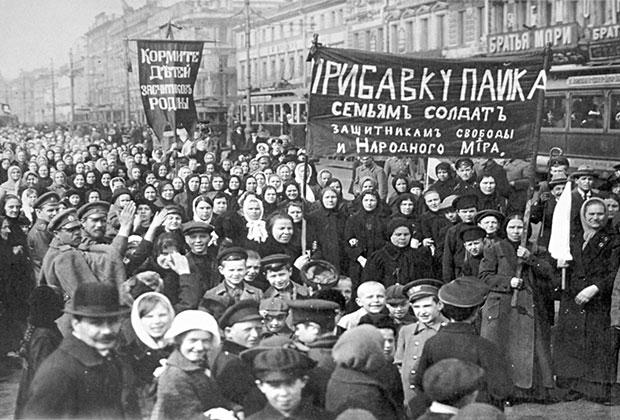 Забастовка на Путиловском заводе