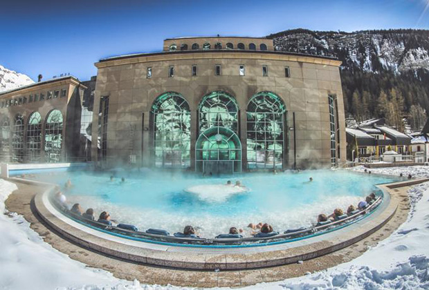 Термальный комплекс Walliser Alpentherme&SPA Leukerbad
