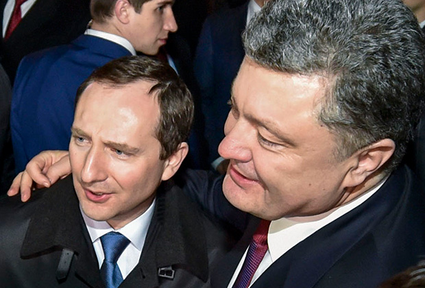 Игорь Райнин и Петр Порошенко