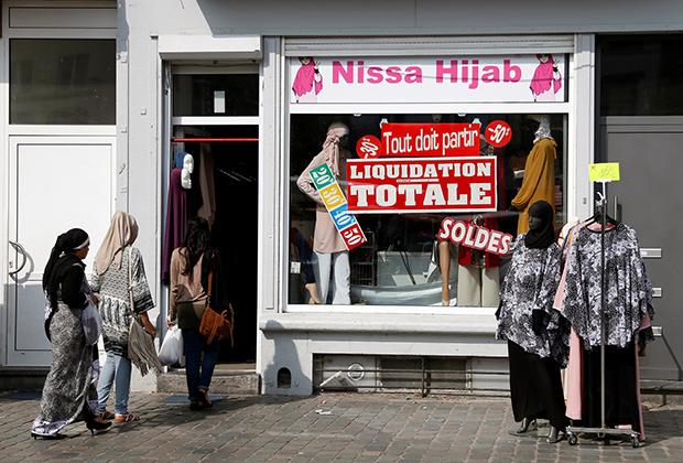 Поход на распродажу хиджабов в Брюсселе