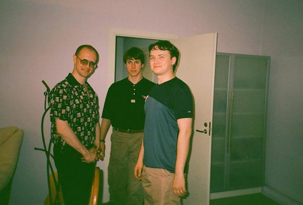 Дмитрий Пучков, Владимир Затолокин и Сергей Иванов