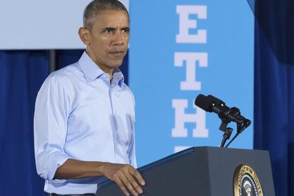 Белый дом прокомментировал возможность отъезда Обамы из США при победе Трампа
