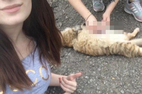 Китаянки убивали кроликов перед камерой фото 338-558