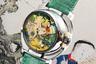 Первые часы с жакемарами и фривольным сюжетом швейцарский часовщик датского происхождения Свенд Андерсен, один из сооснователей Швейцарской академии независимых часовщиков (Académie Horlogère des Créateurs Indépendants, AHCI) выпустил в 1994 году. С тех пор появились три серии: Eros Classiс, Eros XL и Eros 69 с поворачивающимся корпусом.