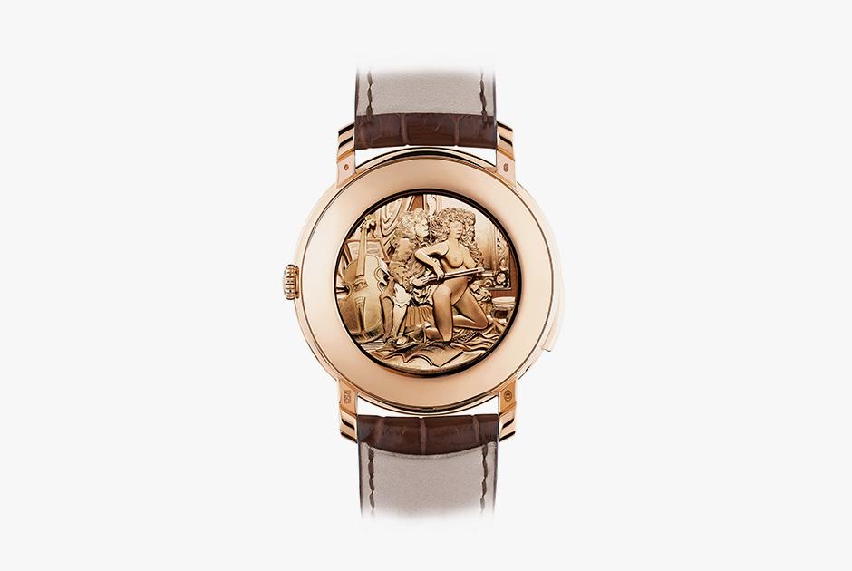 Часы с жакемарами Carrousel Répétition Minutes из серии Erotica Watches, Blancpain