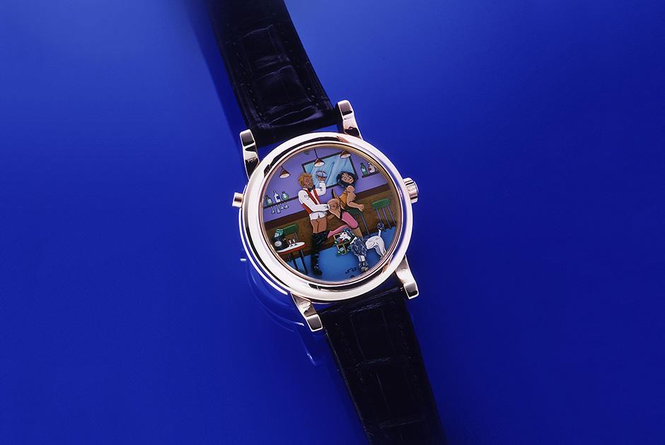 Часы с жакемарами из серии Eros Classic, Andersen Geneve