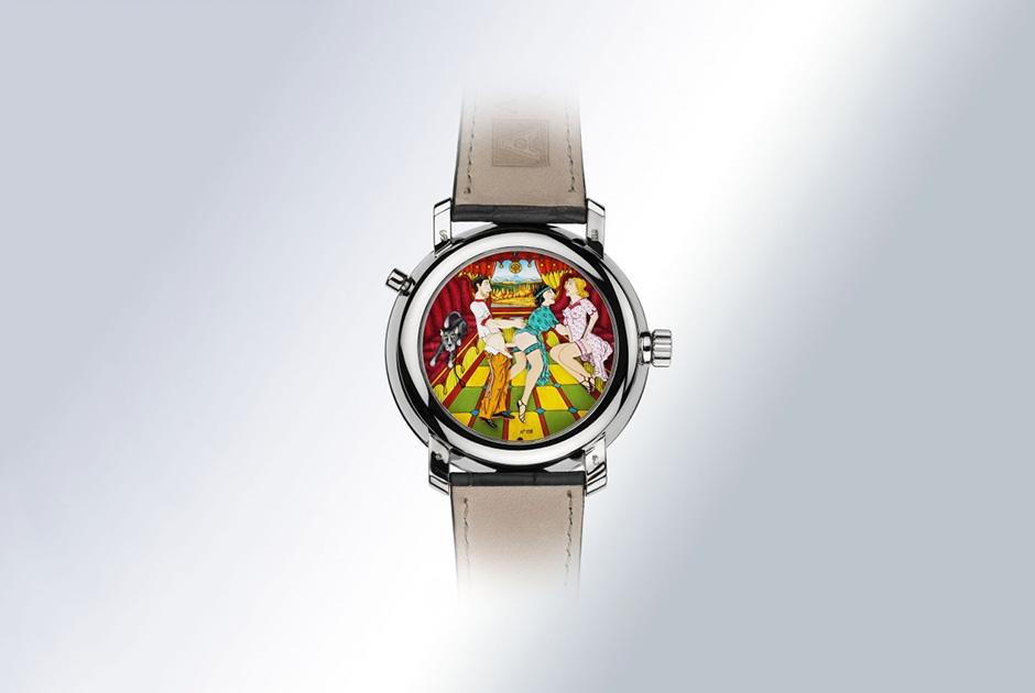 Часы с жакемарами из серии Eros 69, Andersen Geneve