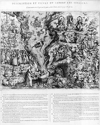 Иллюстрация Яна Зярнко к трактату Пьера де Ланкра «Картина непостоянства злобных ангелов и демонов»