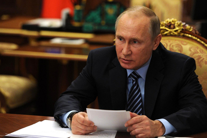 Путин провел переговоры с Трампом
