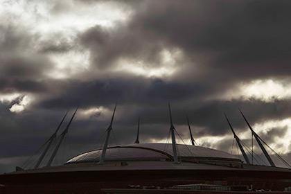 Строящийся стадион «Зенит-Арена»